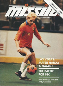 Los Angeles Lazers vs. San Diego Sockers. December 23, 1984