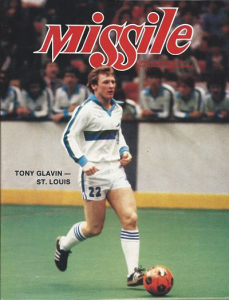 Tony Glavin, St. Louis Steamers