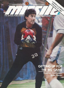 Los Angeles Lazers vs. Kansas City Comets. February 13, 1985