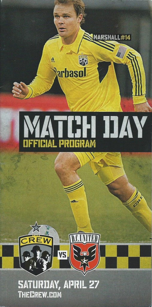 Columbus Crew vs. D.C. United. April 27, 2013