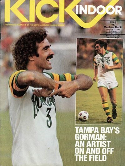 John Gorman Tampa Bay Rowdies