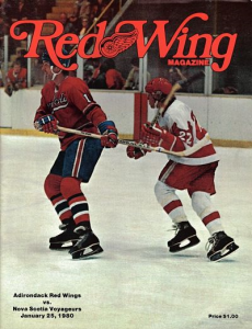 Adirondack Red Wings vs. Nova Scotia Voyageurs. January 25, 1980