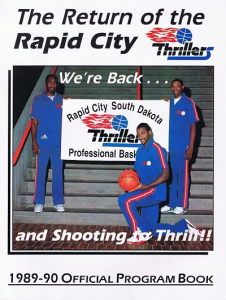 Rapid City Thrillers Program