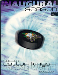 Lubbock Cotton Kings Program