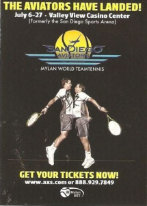 San Diego Aviators World Team Tennis