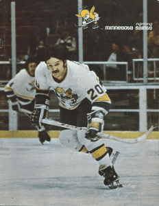 Jim Johnson Minnesota Fighting Saints