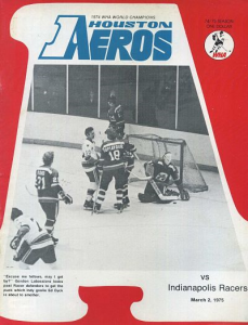 Houston Aeros Program
