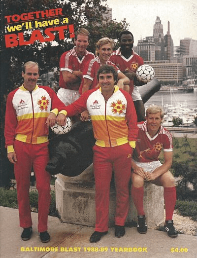 1988-89 Baltimore Blast Yearbook