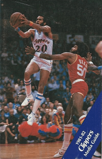 1981-82 San Diego Clippers Media Guide