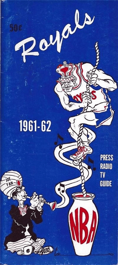 1961-62 Cincinnati Royals Media Guide