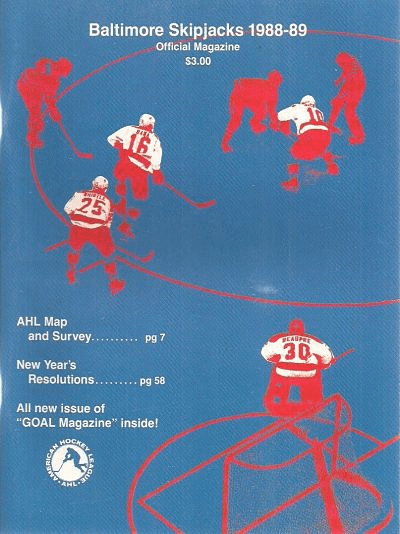1988-89 Baltimore Skipjacks Program