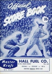 1949 Bristol Owls Program