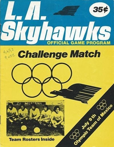 Los Angeles Skyhawks Program