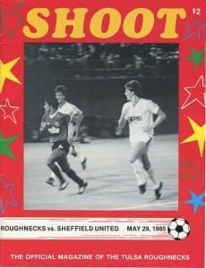 1985 Tulsa Roughnecks Program