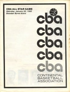 1982 Continental Basketball Association All-Star Game