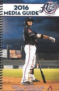 2016 Reno Aces Media Guide