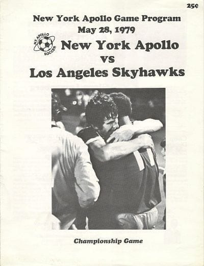 Los Angeles Skyhawks @ New York Apollo. May 28, 1979