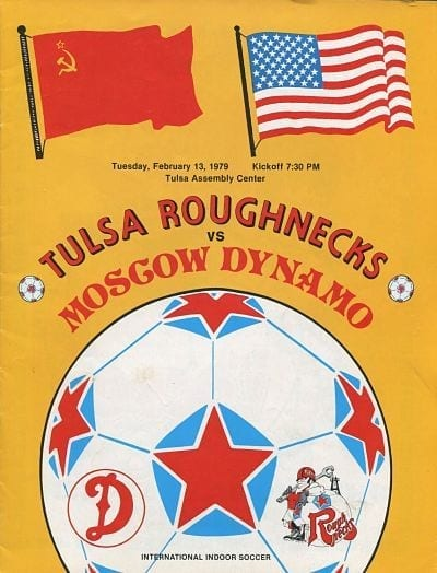 1979 Tulsa Roughnecks Program