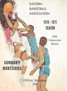 1970-71 Sunbury Mercuries Program