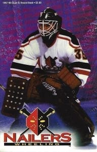 1997-98 Wheeling Nailers Media Guide