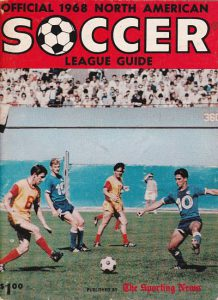 1968 North American Soccer League Media Guide