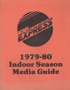1979-80 Detroit Express Media Guide