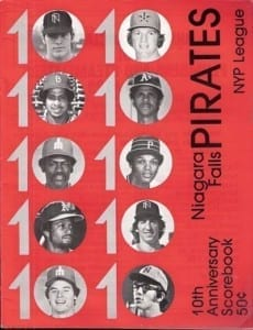 1979 Niagara Falls Pirates Program