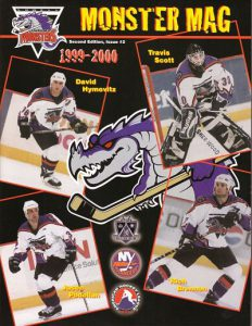 1999-00 Lowell Lock Monsters Program