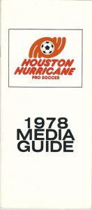 1978 Houston Hurricane Media Guide