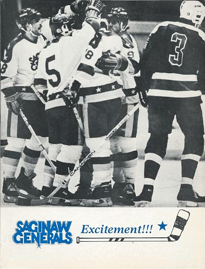1986 Saginaw Generals Program