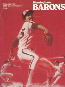 1983 Birmingham Barons Program