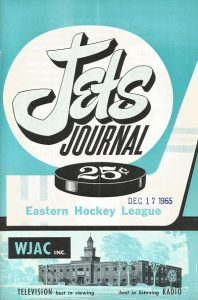 1965 Johnstown Jets Program