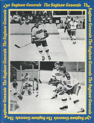 1985 Saginaw Generals Program