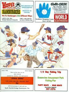 1976 Tidewater Tides Program
