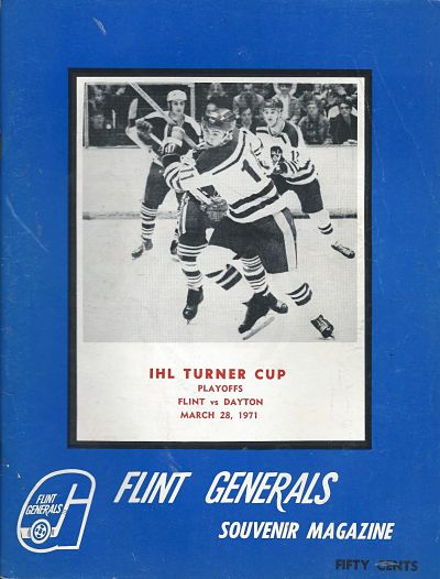 1971 Flint Generals Program
