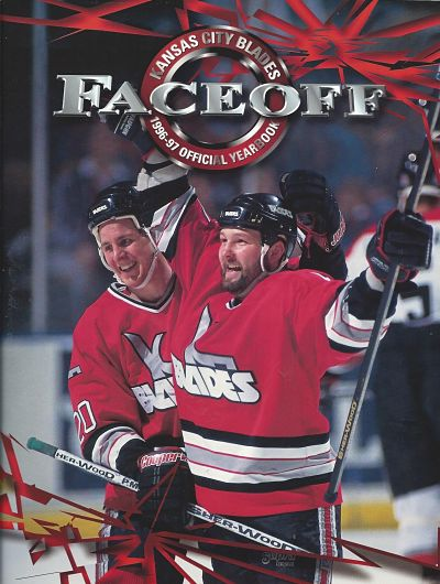1996-97 Kansas City Blades Yearbook