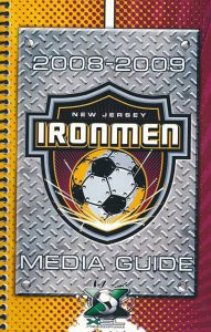 2008-2009 New Jersey Ironmen Media Guide