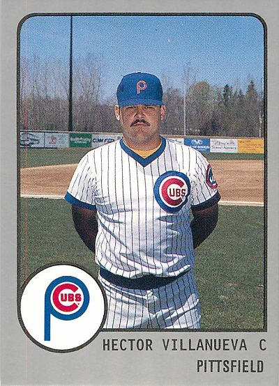 Hector Villanueva Pittsfield Cubs
