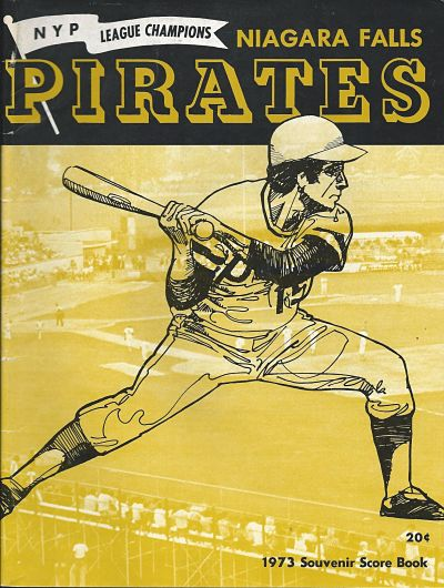 1973 Niagara Falls Pirates Program