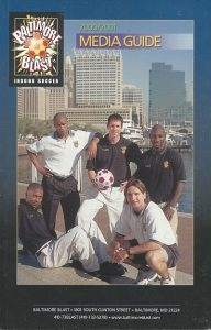 2000-01 Baltimore Blast Media Guide