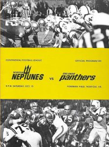 1966 Norfolk Neptunes Program