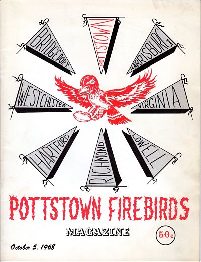 1968 Pottstown Firebirds Program