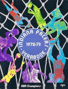 1972-73 Indiana Pacers Yearbook