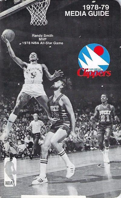 1978-79 San Diego Clippers Media Guide